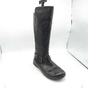 Born Concept Size 10 Side Zip Strap Riding Boots